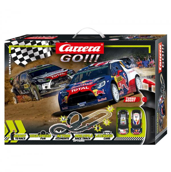 מסלול מכוניות 4.9 מטר CARRERA Super Rally
